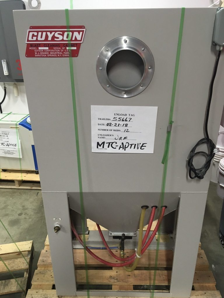 Guyson Blast Cabinet and Dust Collection - SOLD & Guyson Blast Cabinet - Pivot AM Service | AM and RP Equipment ...